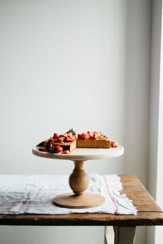 Mandelkuchen Rezept Früchtekuchen Erdbeeren Mandelkuchen ohne Mehl