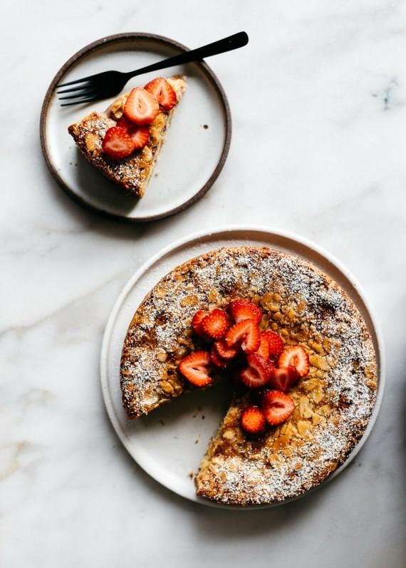 Mandelkuchen Rezept Früchtekuchen Rezept Erdbeeren Mandelkuchen ohne Mehl