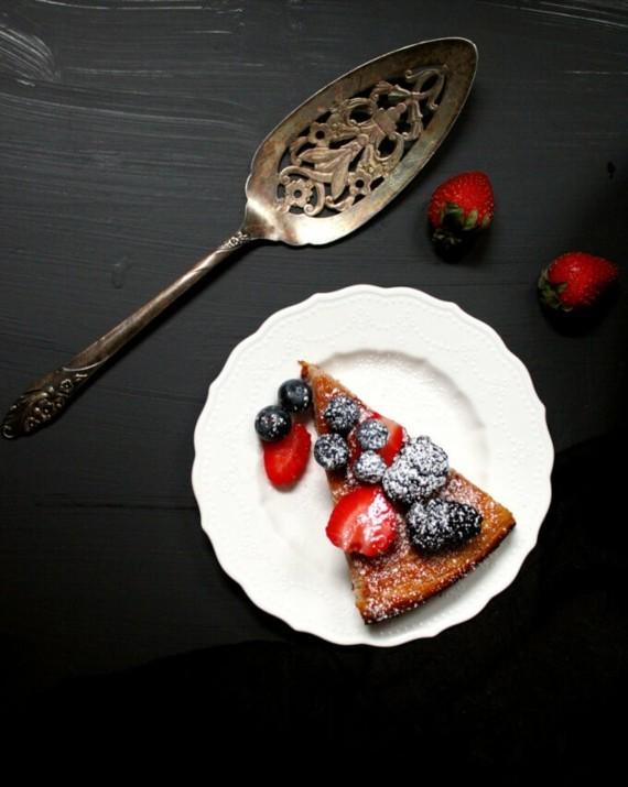 Mandelkuchen Rezept vegan glutenfrei Erdbeeren Mandelkuchen ohne Mehl