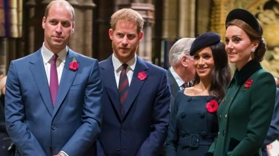 Meghan Markle Kate Middleton Prinz Harry Prinz William
