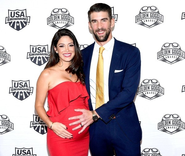 Michael Phelps Nicole Johnson drittes Baby ist unterwegs