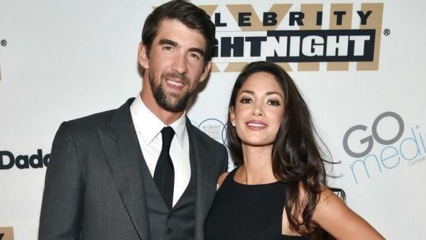 Michael Phelps Nicole Johnson offiziell ihr drittes Baby ist unterwegs