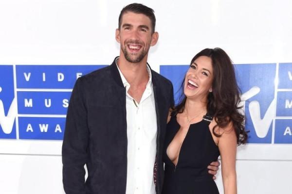 Michael Phelps Nicole Johnson werden zum dritten Mal Eltern