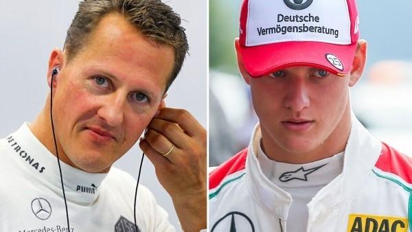 Mick Schumacher Michael Schumacher frappierende Ähnlichkeit