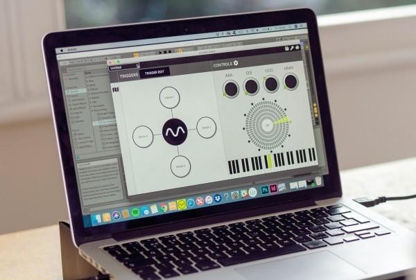 Musikanlage toller Bildschirm