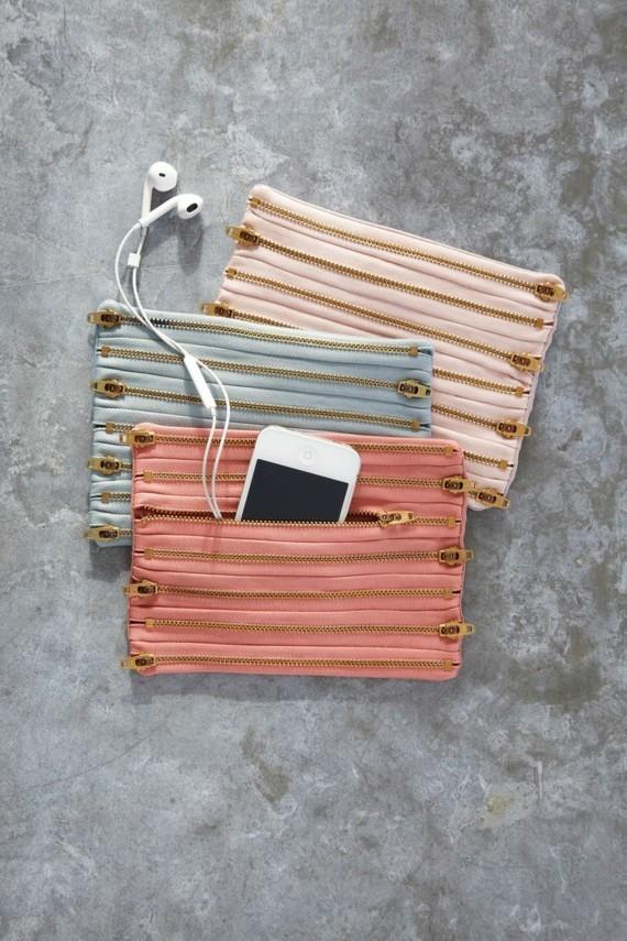 Muttertagsgeschenke basteln DIY Accessoires Tasche