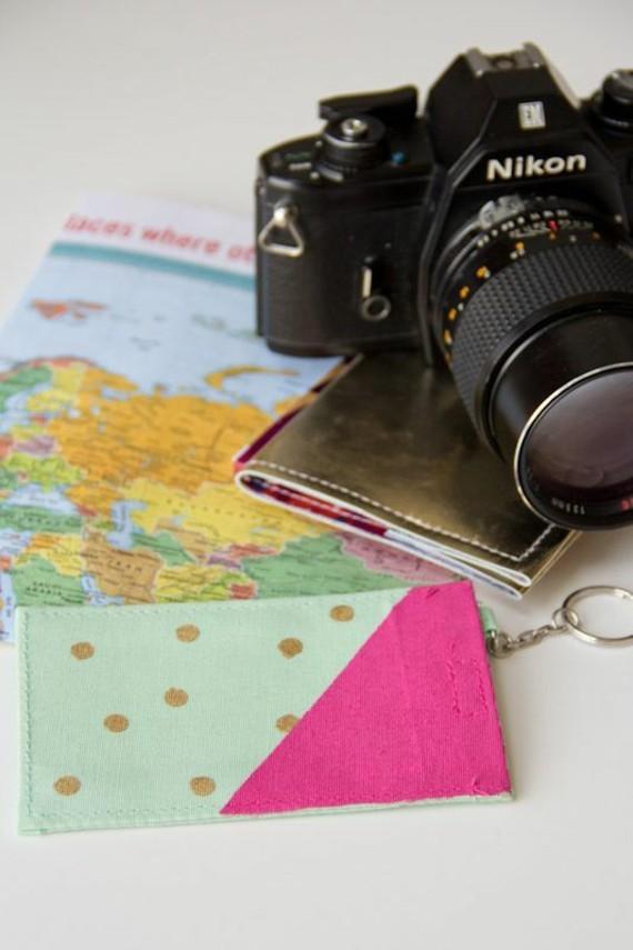 Muttertagsgeschenke basteln DIY Gepäckanhänger