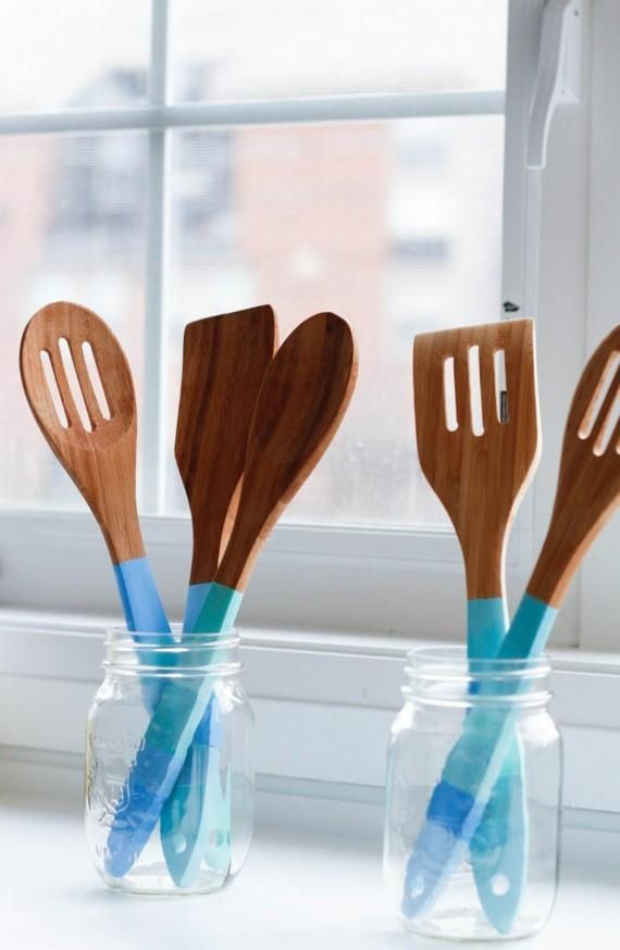 Muttertagsgeschenke basteln DIY Küchenutensilien