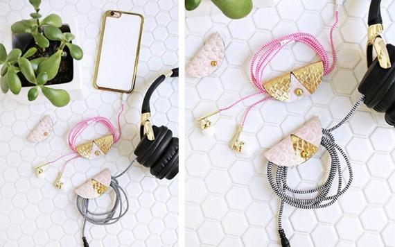 Muttertagsgeschenke basteln DIY Kabel Ordnung