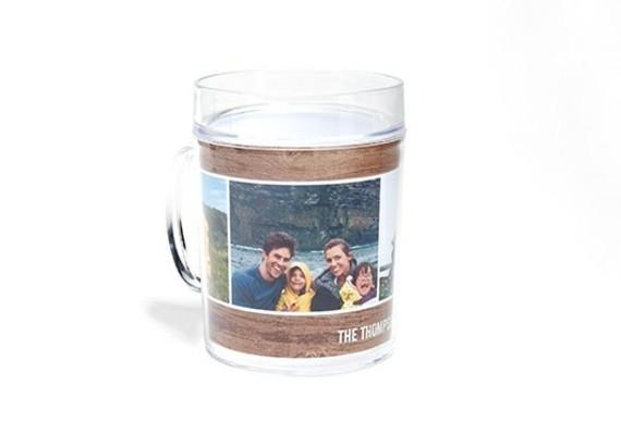 Muttertagsgeschenke basteln DIY Kaffeetassee mit Foto