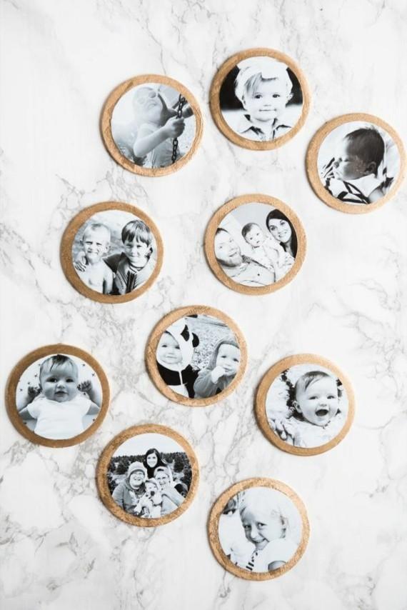 Muttertagsgeschenke basteln DIY Kinderfotos