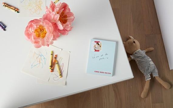 Muttertagsgeschenke basteln DIY Notizbook