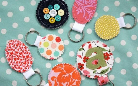 Muttertagsgeschenke basteln DIY Schlüsselanhänger