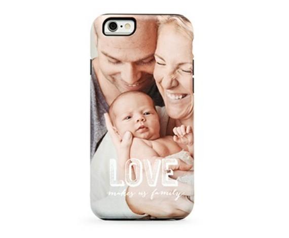 Muttertagsgeschenke basteln personalisierte Geschenkideen Smartphone Case