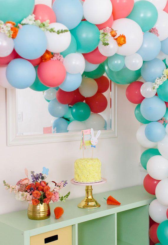 Osterdeko tolle Ballons
