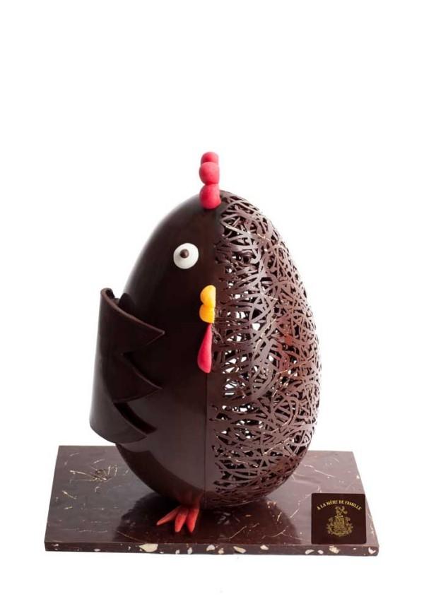 Osterei - toller Vogel - Idee