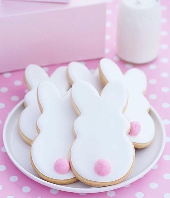 Osterhasen backen mit Kindern Ausstechform Osterhasen Kekse