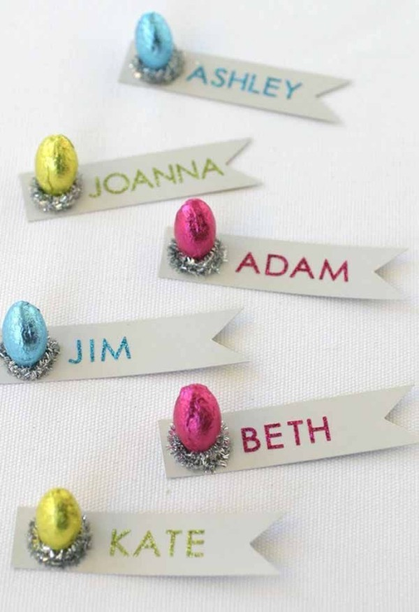 Ostern Geschenke - Ideen mit Namen