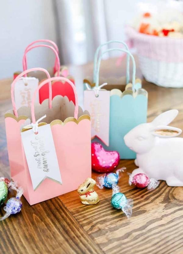 Ostern Geschenke - selbstgemachte Geschenktüten