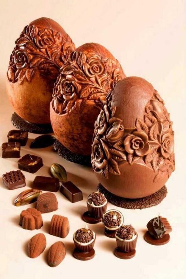 Pföanzliche Ideen für ein Osterei