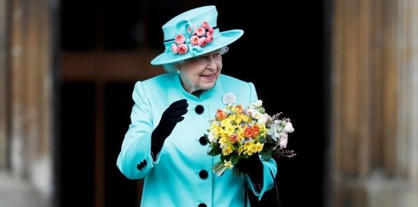 Royals at Easter Sunday church service