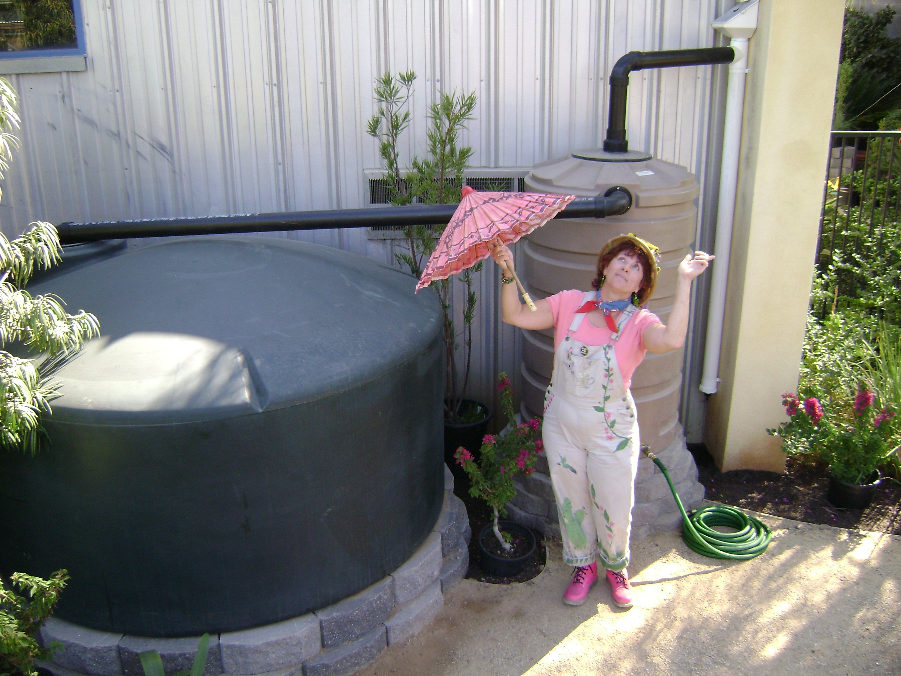 Regenwassernutzungsanlagen regenwasser aufsammeln umweltbewusst leben