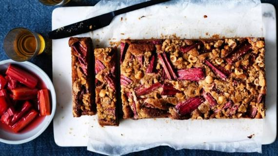 Rezepte mit Rhabarber und Erdbeeren Frühlingsrezepte