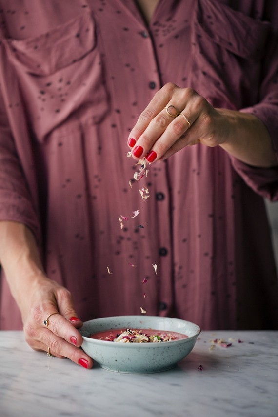 Rezepte mit Rhabarber und Erdbeeren Frühlingsrezepte Rhabarber Suppe