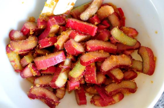 Rezepte mit Rhabarber und Erdbeeren Frühlingsrezepte Rhabarberkuchen