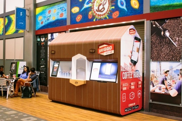 Roboter Köche werden bald unser Brot backen, Kaffee brauen und Salat machen briggo kaffee automat robot