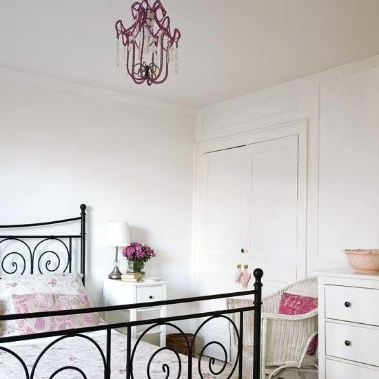 Schlafzimmer Ideen frische Farben und verspielte Muster deko ideen