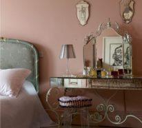 Feminine Schlafzimmer Ideen für mehr Ruhe und Romantik im Raum