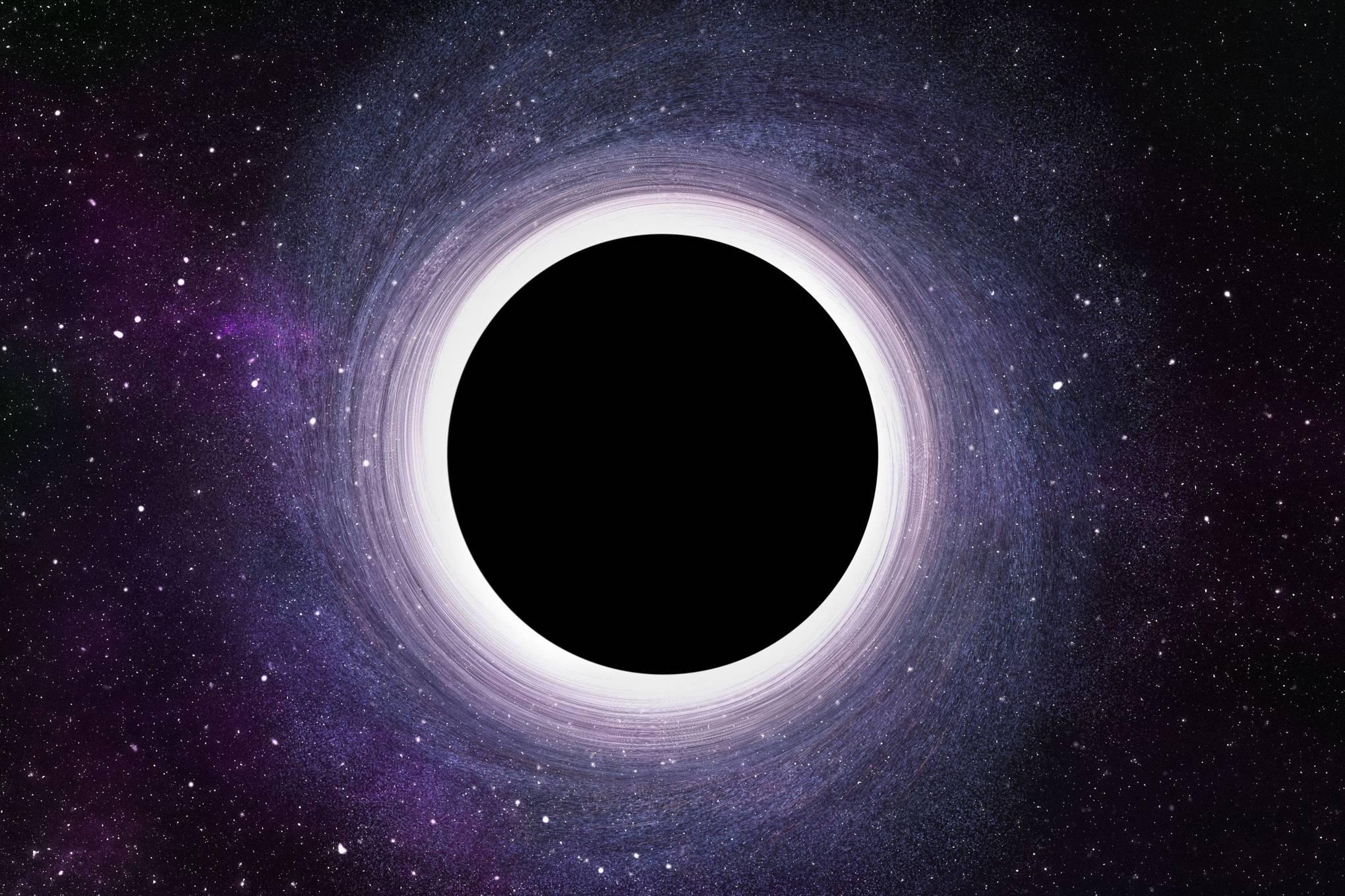 Schwarze Loch Foto