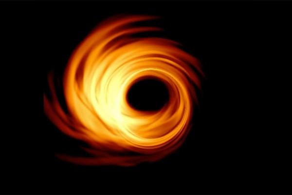 Schwarzes Loch von M87 zum ersten Mal fotografiert so könnte es genauer aussehen