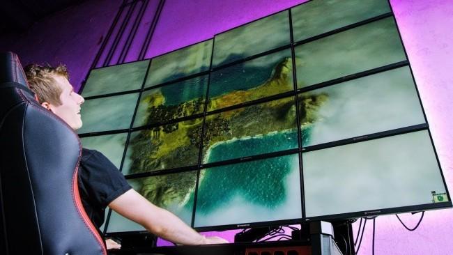 Sony zeigt erstes 16K Display, das großer als ein Bus ist gaming auf 16 k resolution