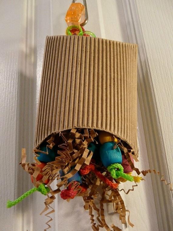 Spielzeug für Wellensittiche DIY Vogelspielzeuge