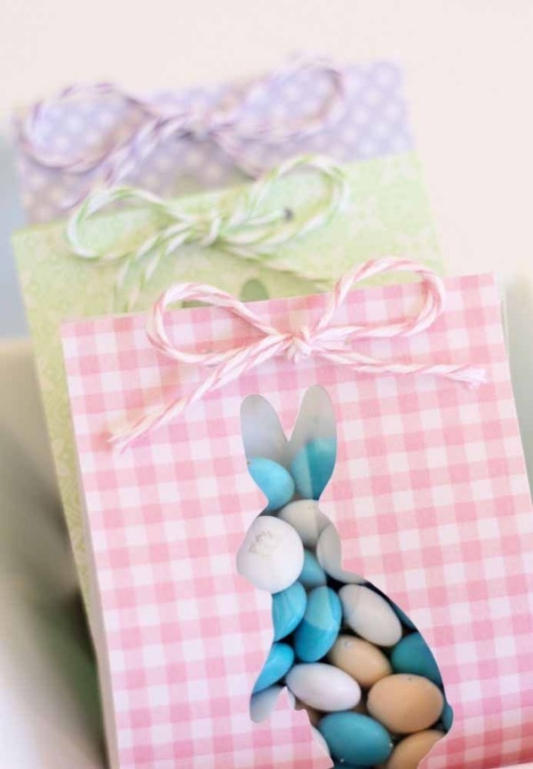 Tüten mit Hasen - Ostern Geschenke