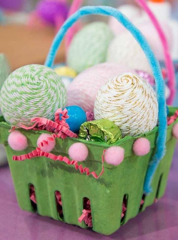 Tolles Korb - tolle Idee Ostern Geschenke
