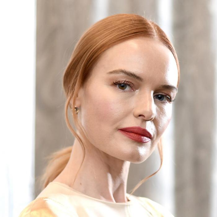 Trendy Haarfarben 2019 Kupferglanz blondes Haar Kate Bosworth