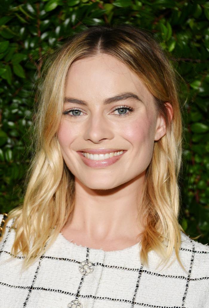 Trendy Haarfarben 2019 blondes Haar Margot Robbie