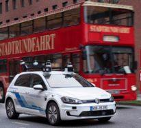 Volkswagen testet selbstfahrende Autos auf den Straßen von Hamburg