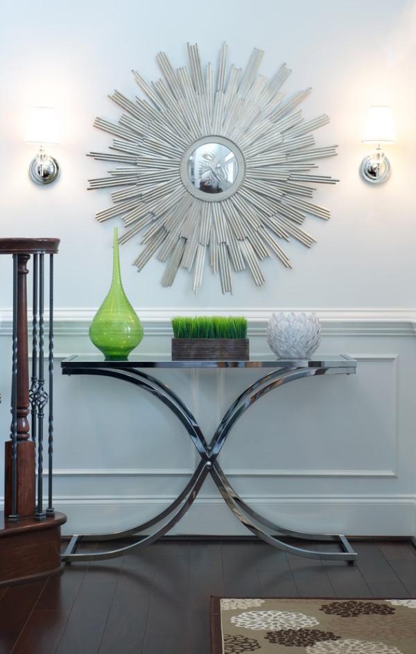 Wandspiegel im Flur modernes Design