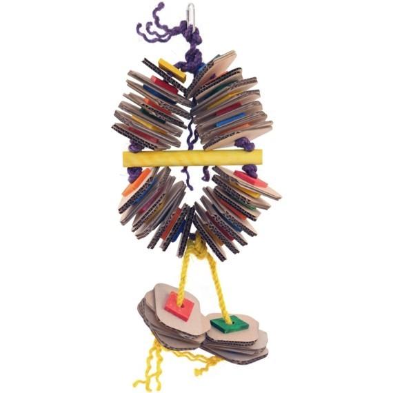 Wellensittich Spielzeug DIY Vogelspielzeug Wellpappe