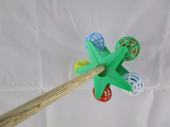 Wellensittich Zubehör DIY Vogelspielzeug Rad