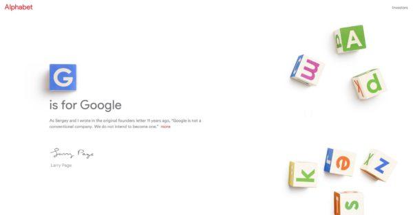 alphabet google umweltschutz