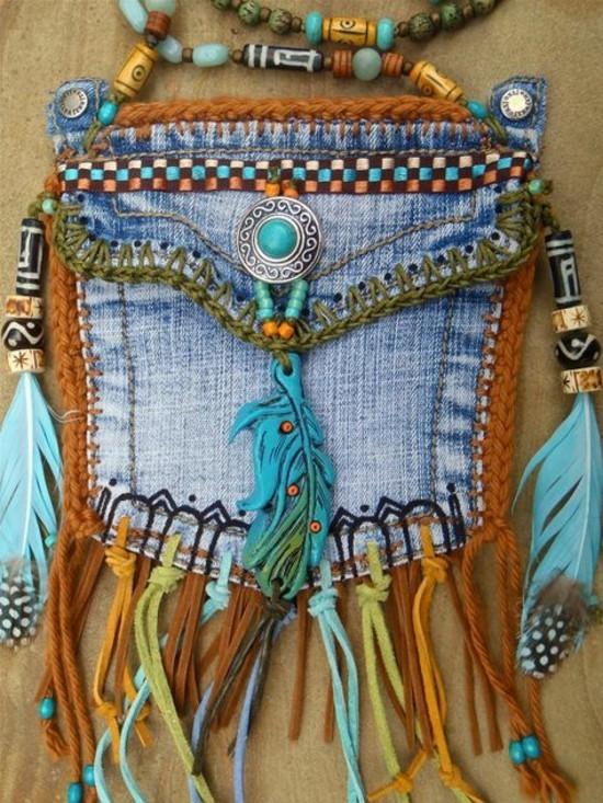 boho deko jeans upcycling ideen zum selbermachen