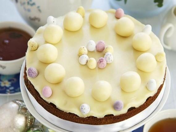 englischer Früchtekuchen backen Kuchen Muttertag Osterkuchen Marzipan