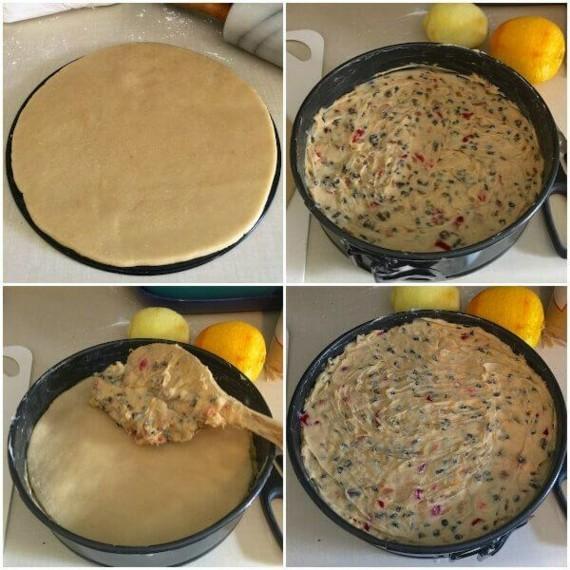 englischer Früchtekuchen backen Kuchen Muttertag Rezepzt