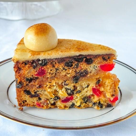 englischer Früchtekuchen backen Kuchen zum Muttertag Rezept