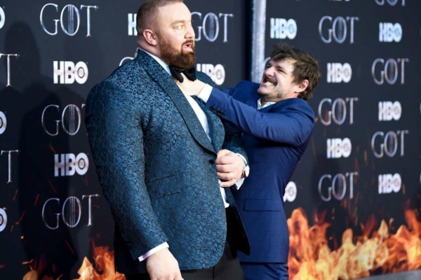 game of thrones Julius Bjornsson und Pedro Pascal